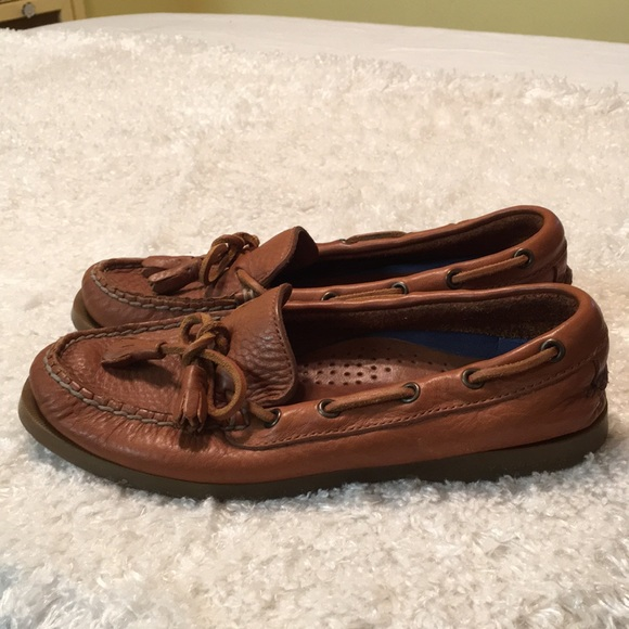 Sperry Top-Sider Brown Leather Shoes